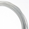 Aluminum Wire 12ga (2.5mm) 30ft Round Silver